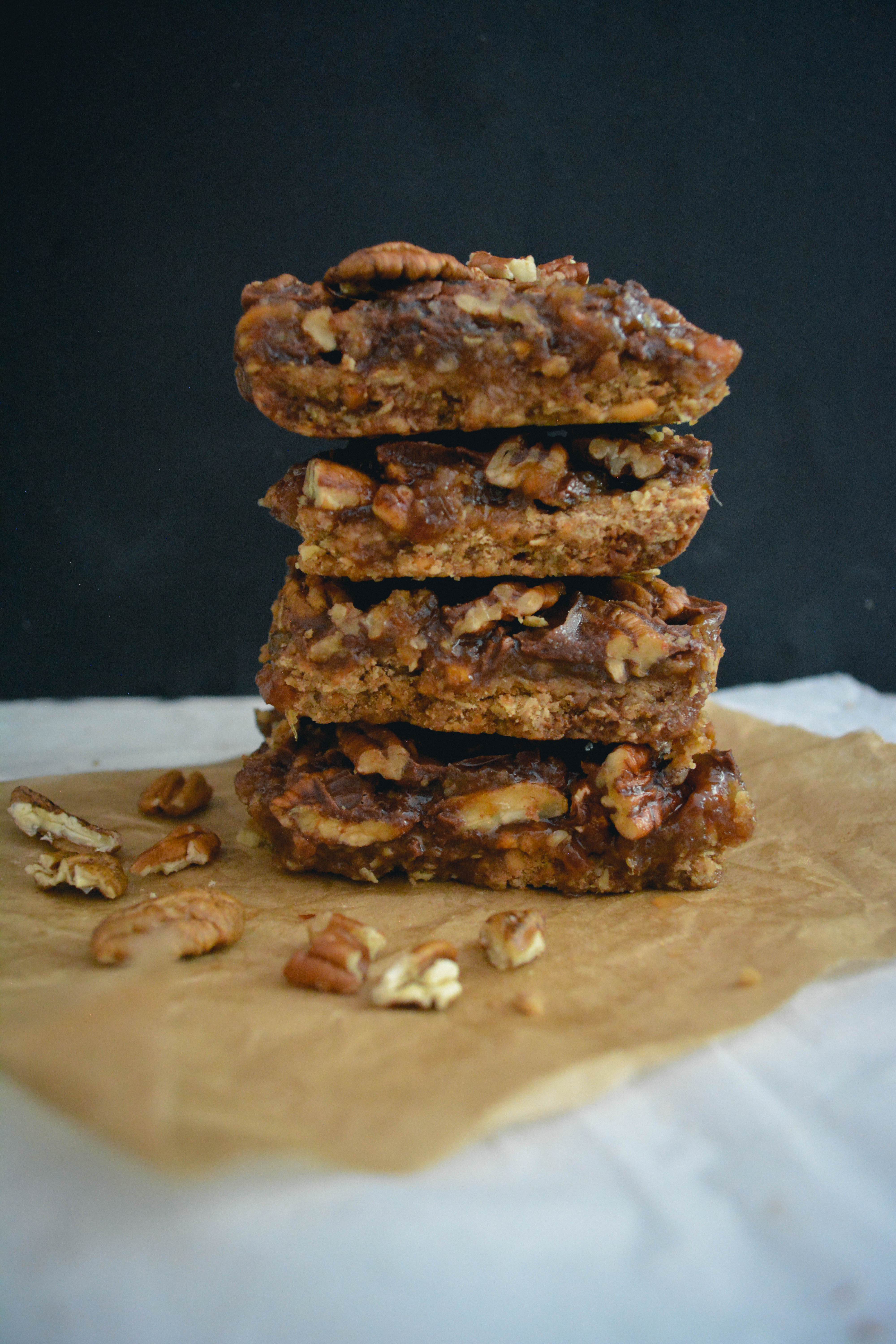 Pecan-Caramel-Chocolate-Shortbread-Bars